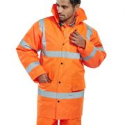 Hi-Vis Jacket - Orange